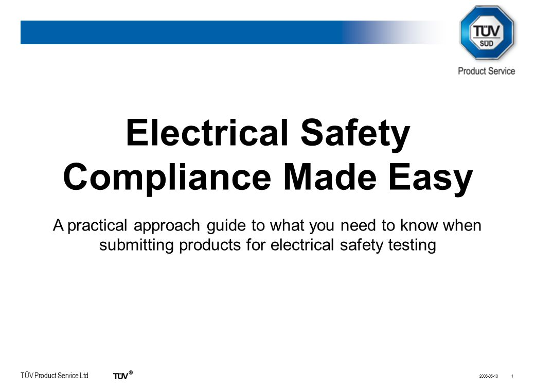 Electrical Safety Compliance Made Easy