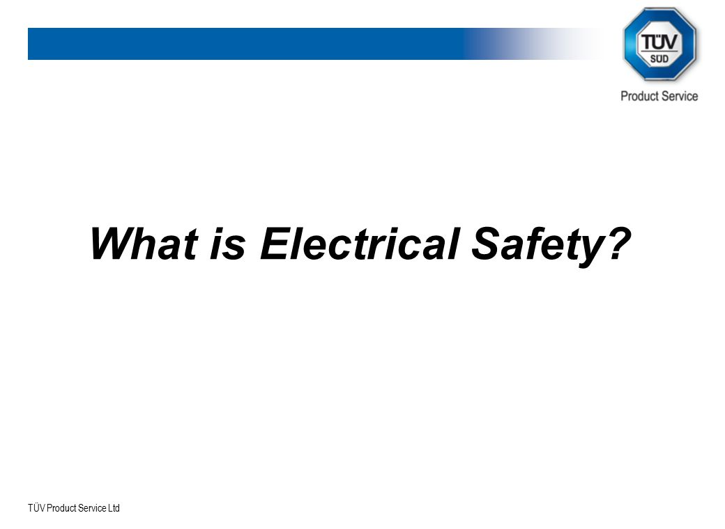 What is Electrical Safety