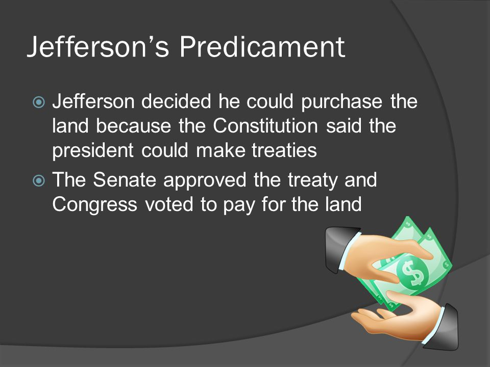 Jefferson's Predicament