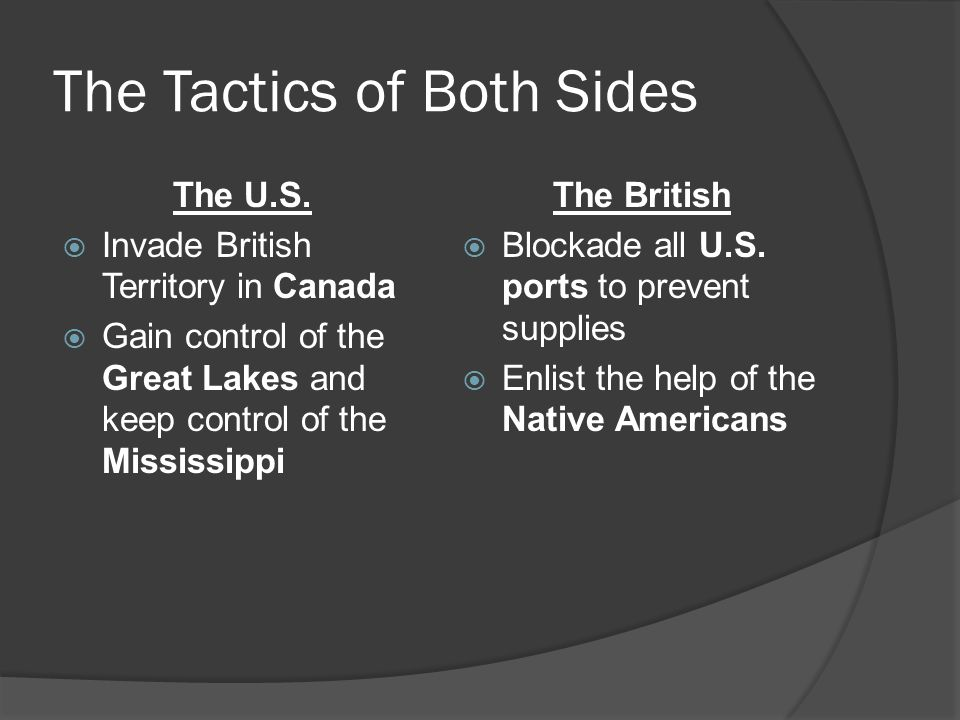 The Tactics of Both Sides