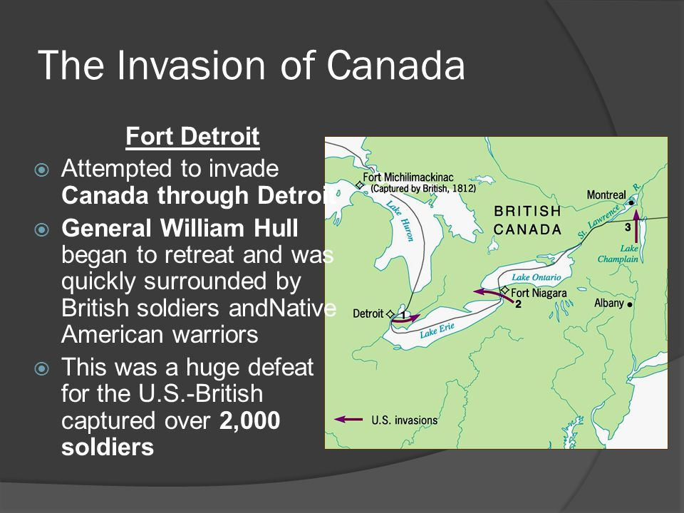 The Invasion of Canada Fort Detroit