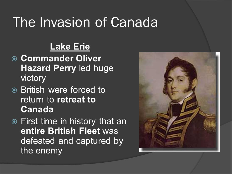 The Invasion of Canada Lake Erie