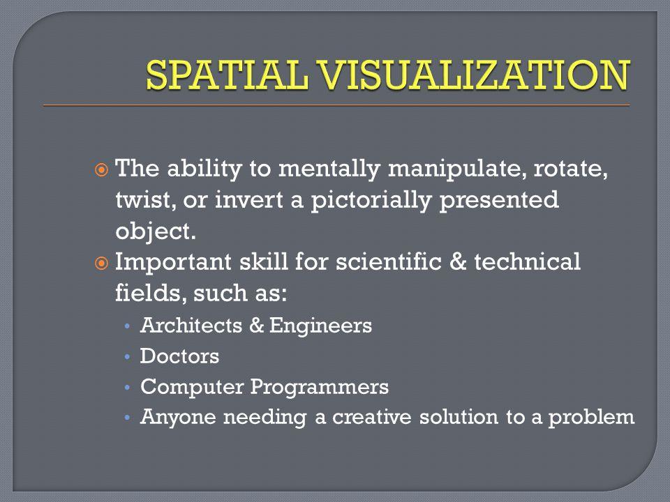 SPATIAL VISUALIZATION