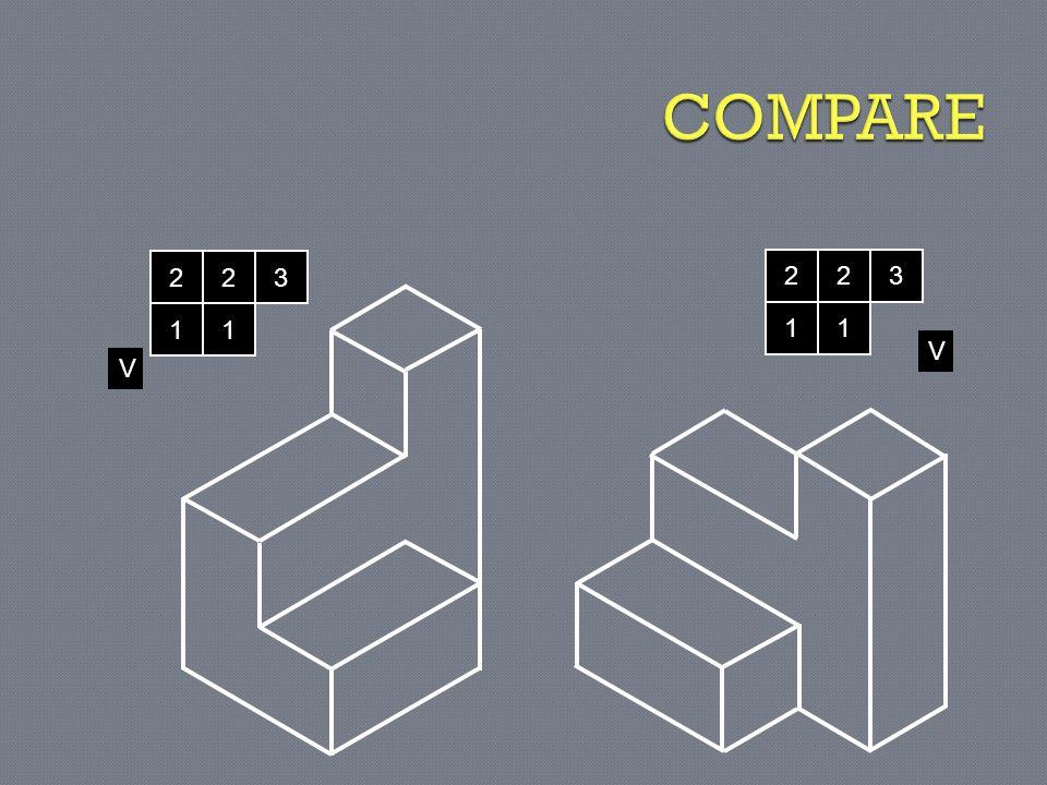 COMPARE 2 2 3 2 2 3 1 1 1 1 V V