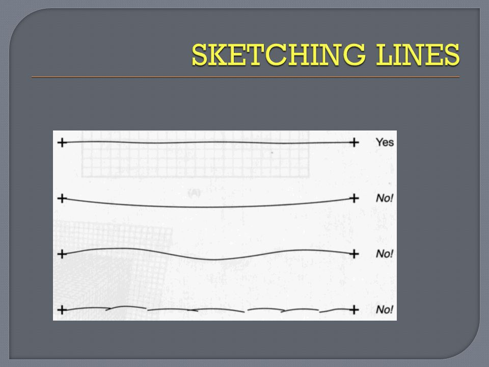 SKETCHING LINES