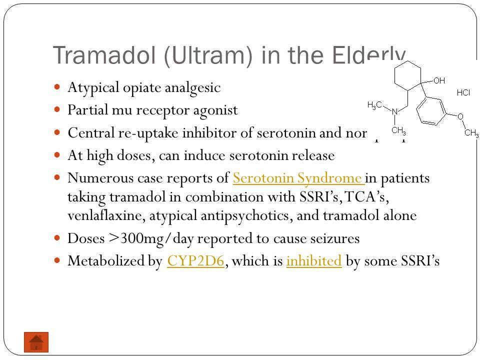 Tramadol (Ultram) in the Elderly