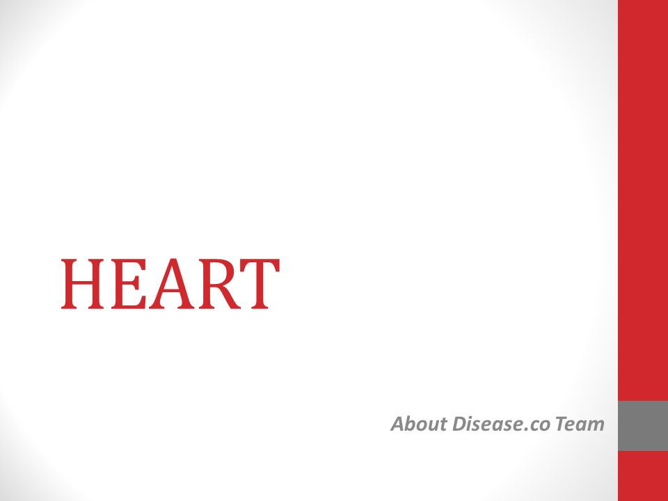 HEART About Disease.co Team