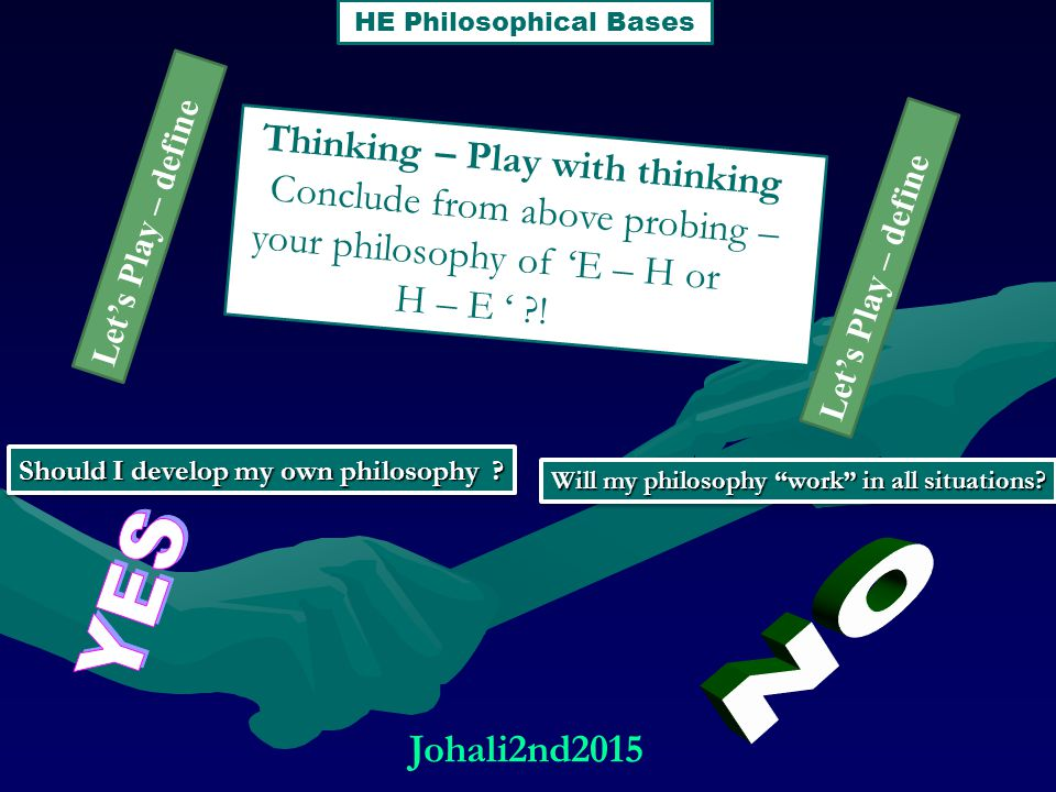 Thinking – Play with thinking