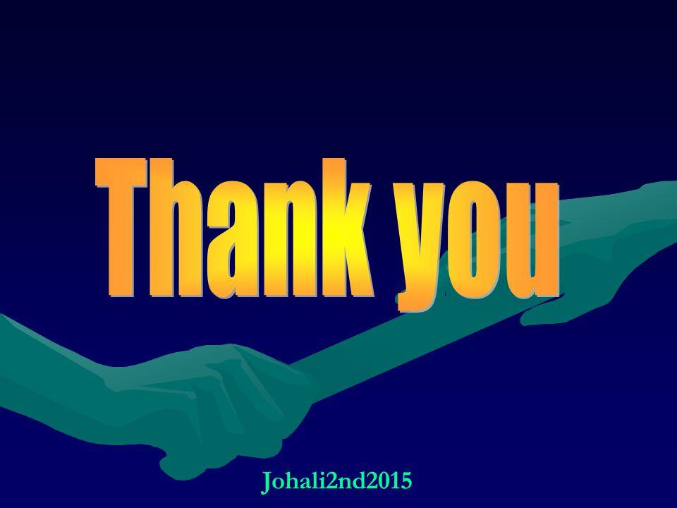 Thank you Johali2nd2015
