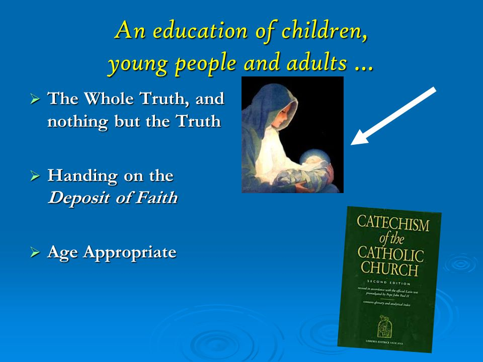An education of children, young people and adults …