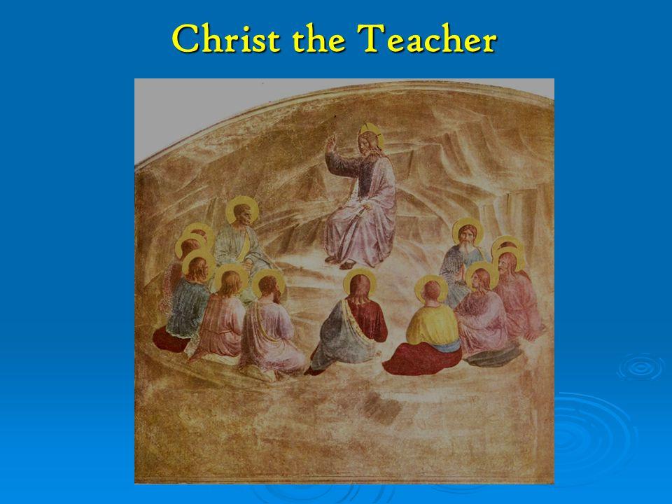 Christ the Teacher