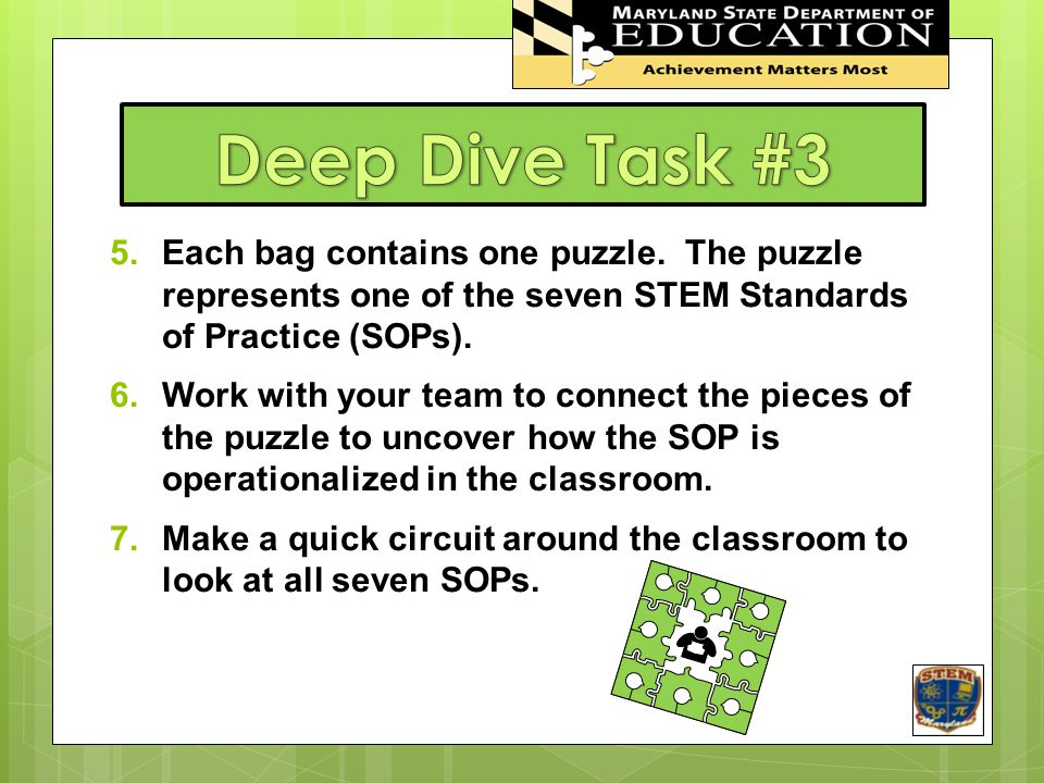 Deep Dive Task #3 STEM In Maryland