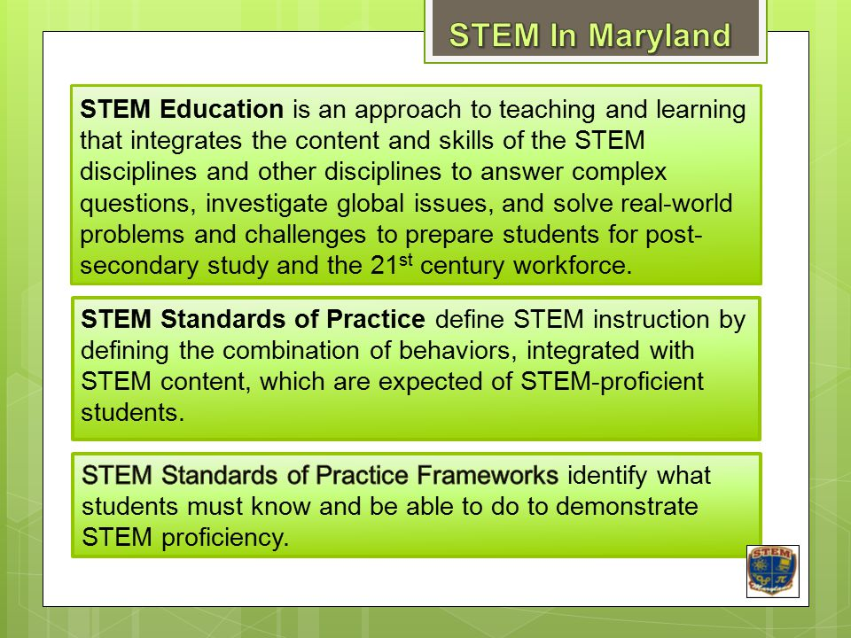 STEM In Maryland