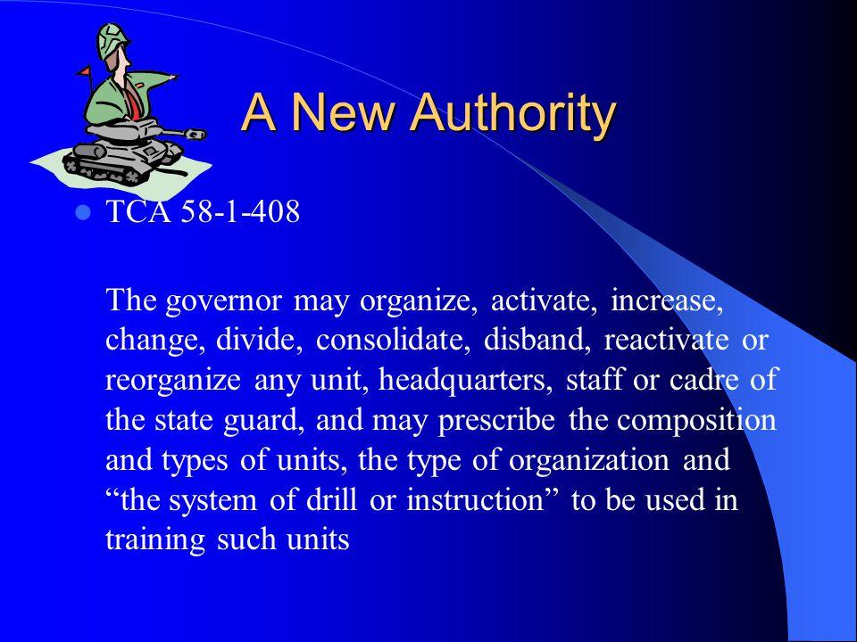A New Authority TCA 58-1-408.