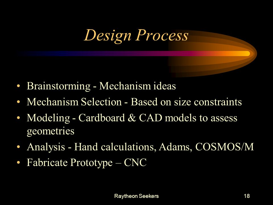 Design Process Brainstorming - Mechanism ideas