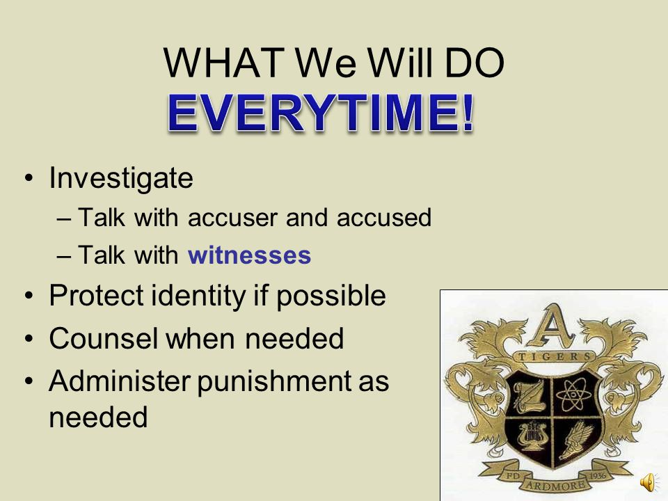 EVERYTIME! WHAT We Will DO Investigate Protect identity if possible