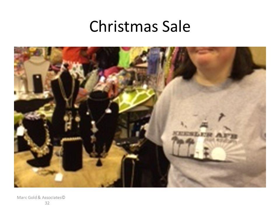 Christmas Sale Marc Gold & Associates© 32