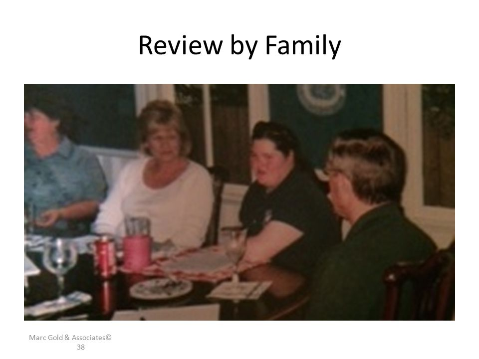 Review by Family Family looking over profile