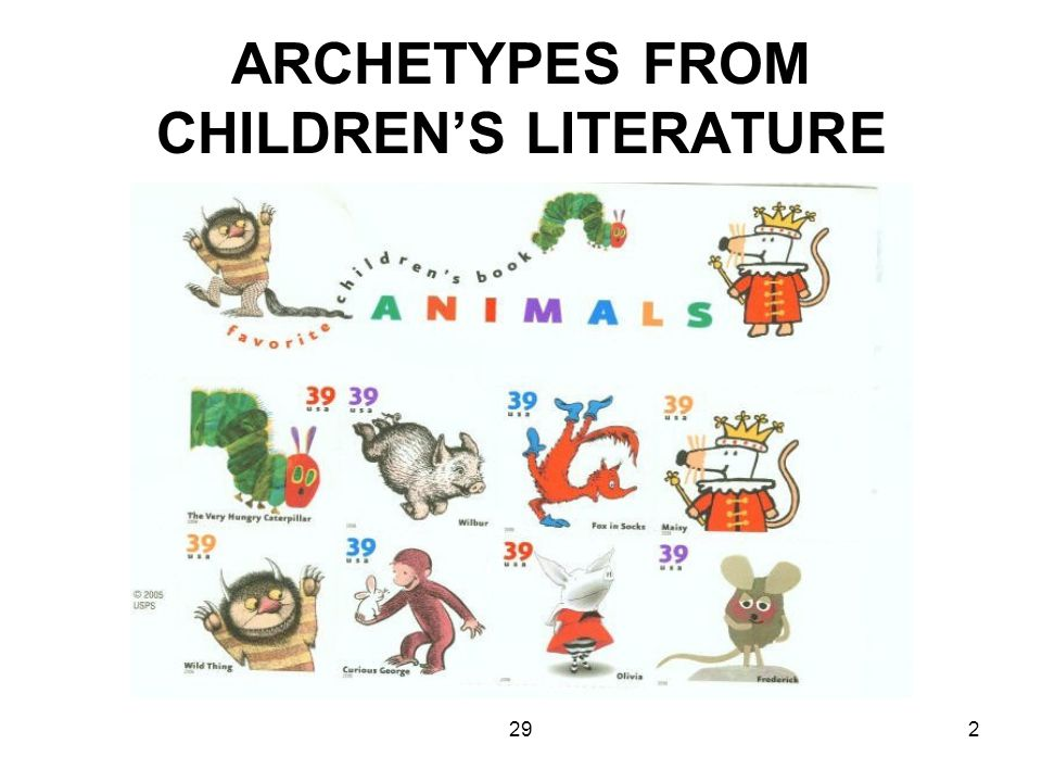 ARCHETYPES FROM CHILDREN'S LITERATURE