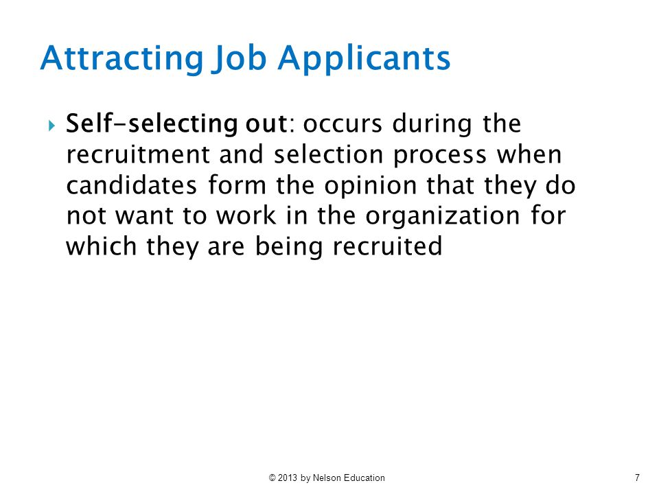 Attracting Job Applicants