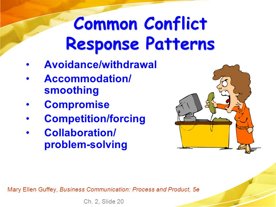 Common Conflict Response Patterns