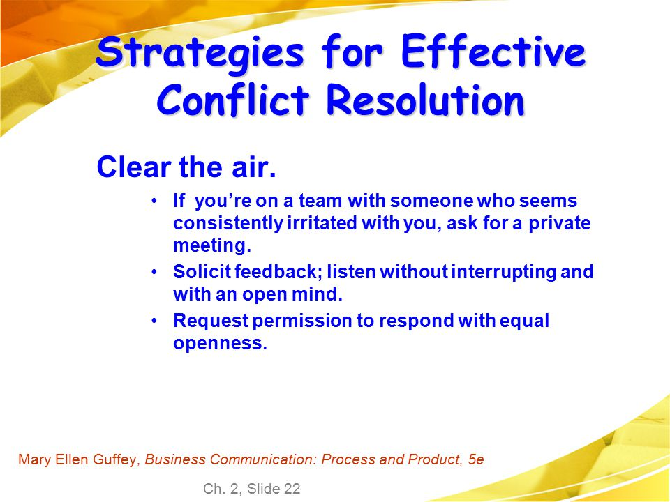 meeting conflicts and interventions Discover the best ways to collaborate and promote positive conflict in meetings  so you can train your team to embrace innovation and change.