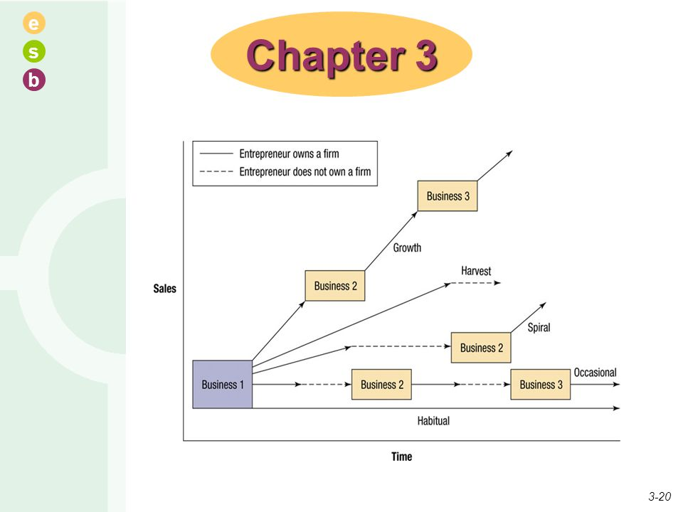 Chapter 3 There are many different types of entrepreneurs which will be discussed.