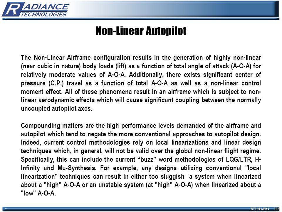 Non-Linear Autopilot