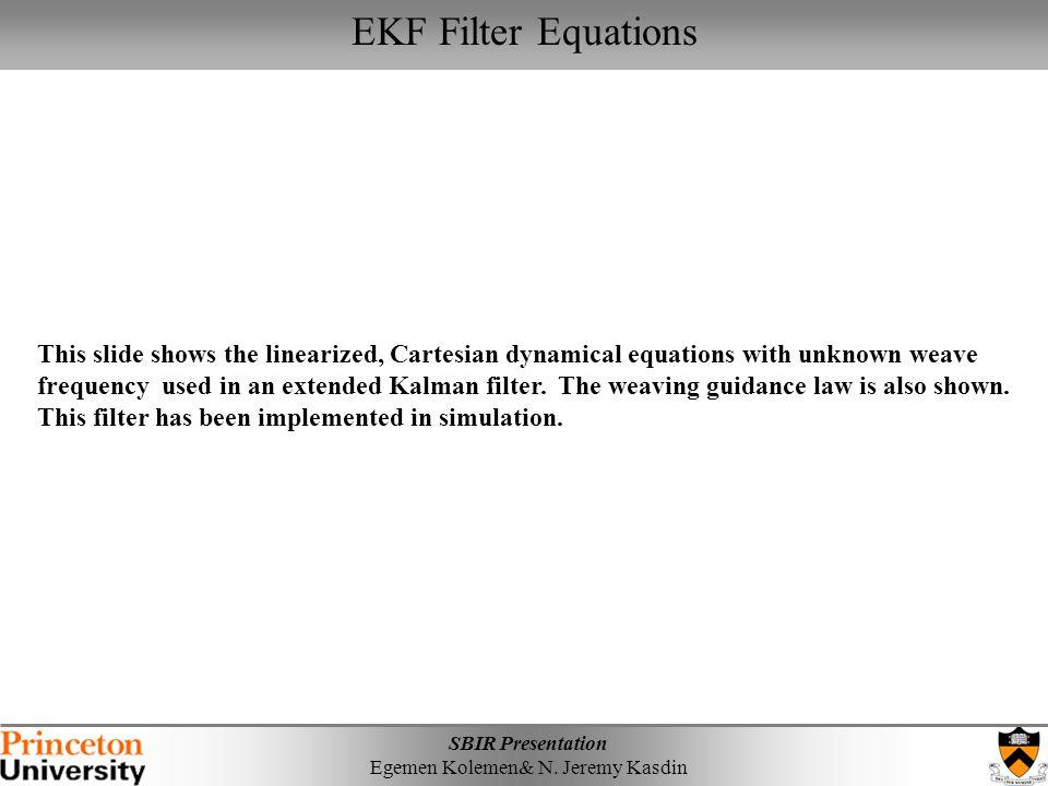 EKF Filter Equations