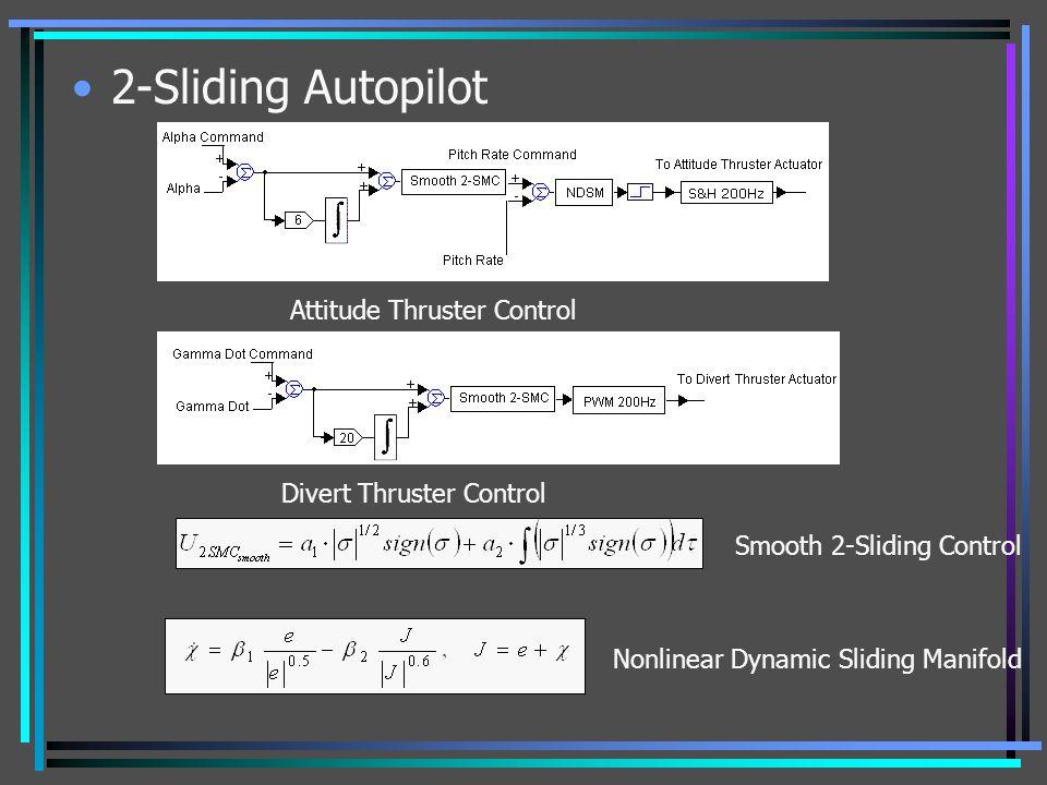 2-Sliding Autopilot Attitude Thruster Control Divert Thruster Control