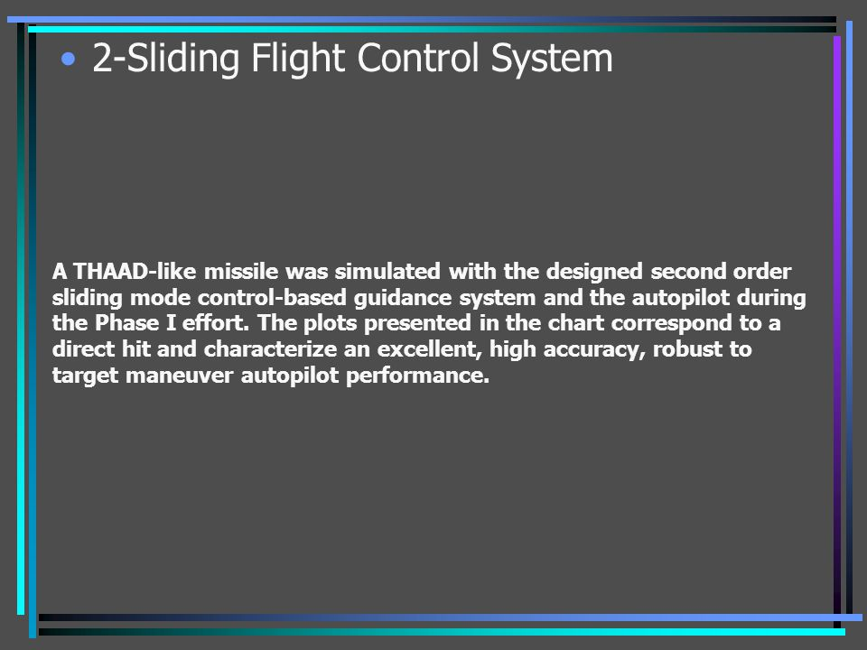 2-Sliding Flight Control System