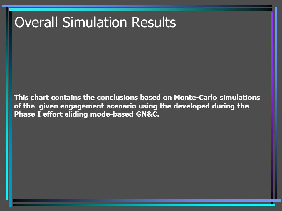 Overall Simulation Results