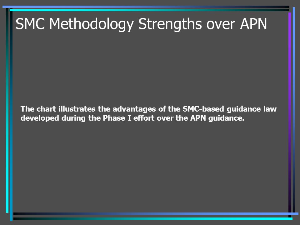 SMC Methodology Strengths over APN