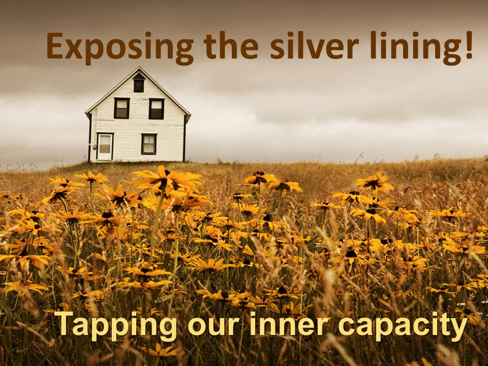 Exposing the silver lining!