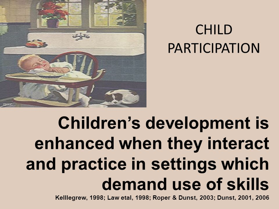 CHILD PARTICIPATION