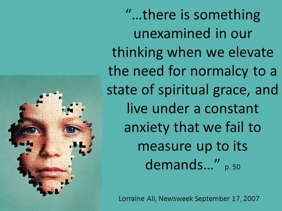 Lorraine Ali, Newsweek September 17, 2007