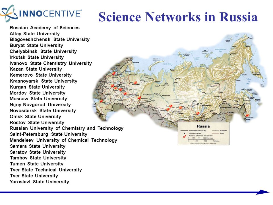 Science Networks in Russia