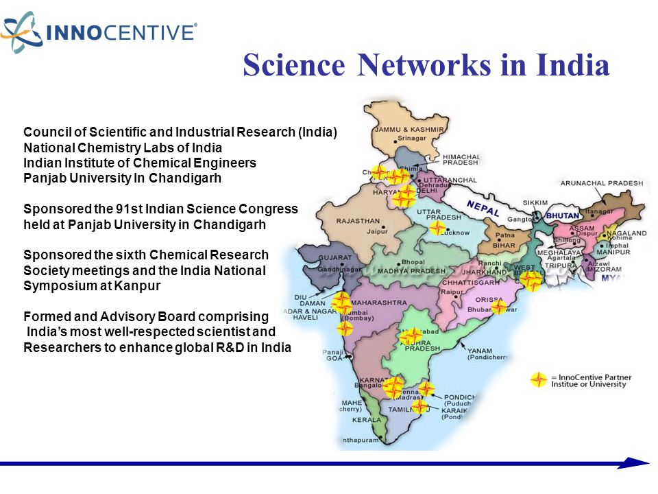 Science Networks in India