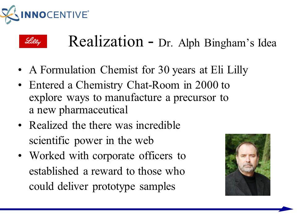 Realization - Dr. Alph Bingham's Idea