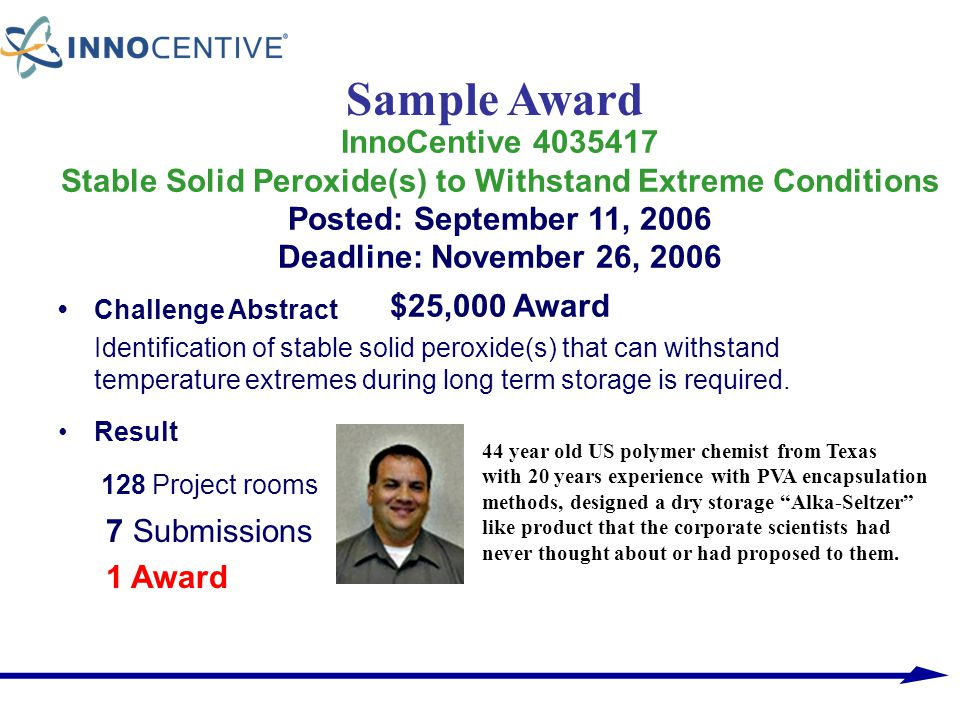 Sample Award 128 Project rooms