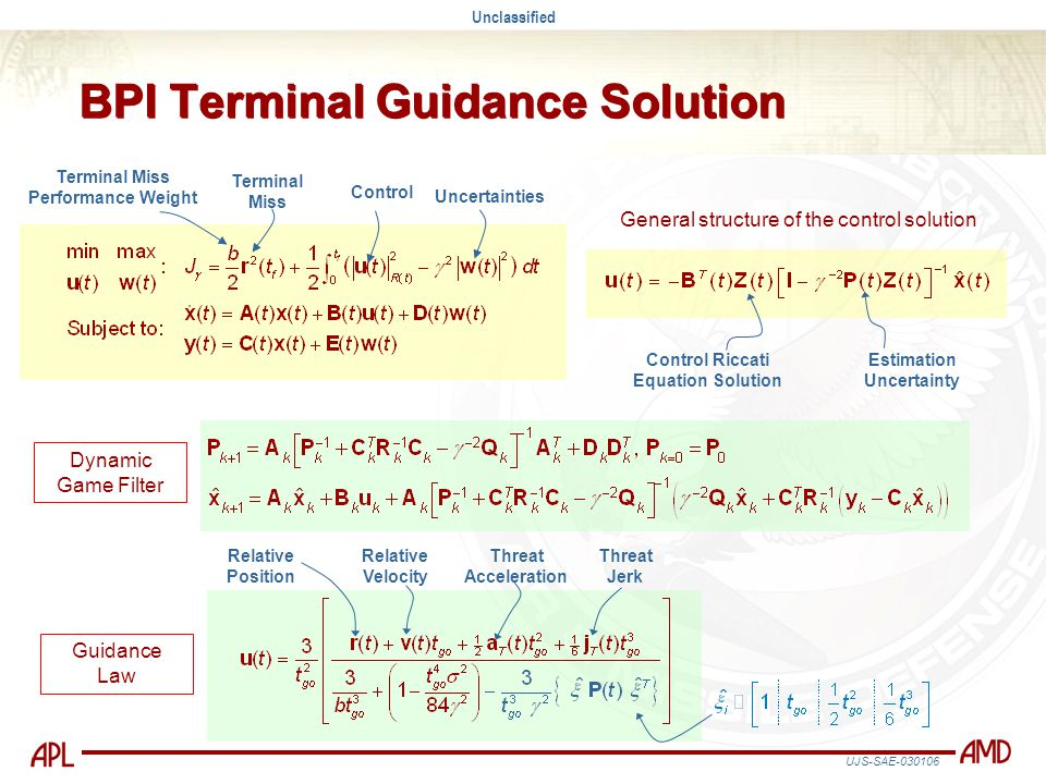 BPI Terminal Guidance Solution