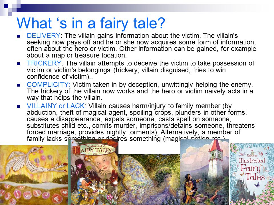 What 's in a fairy tale