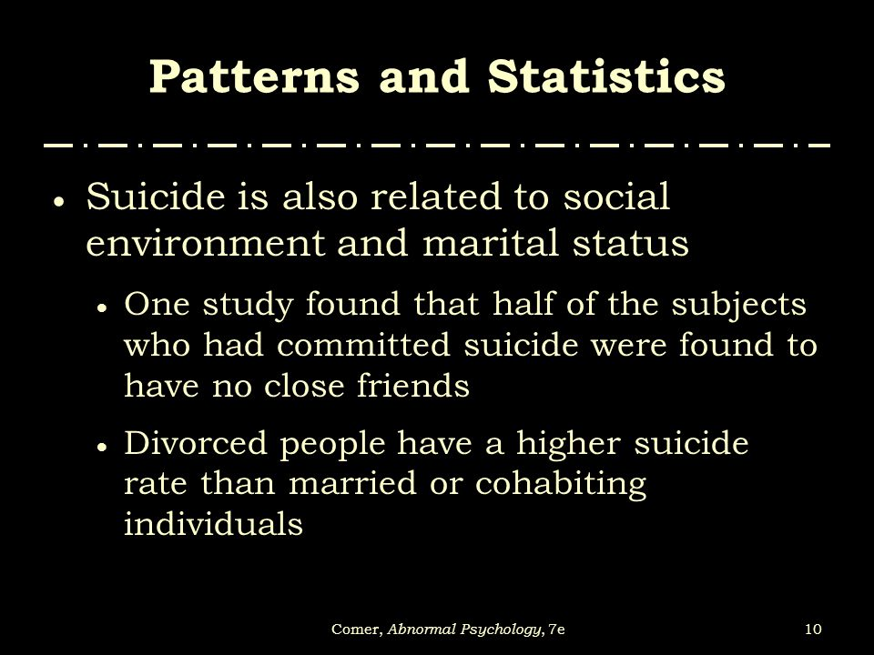 Patterns and Statistics