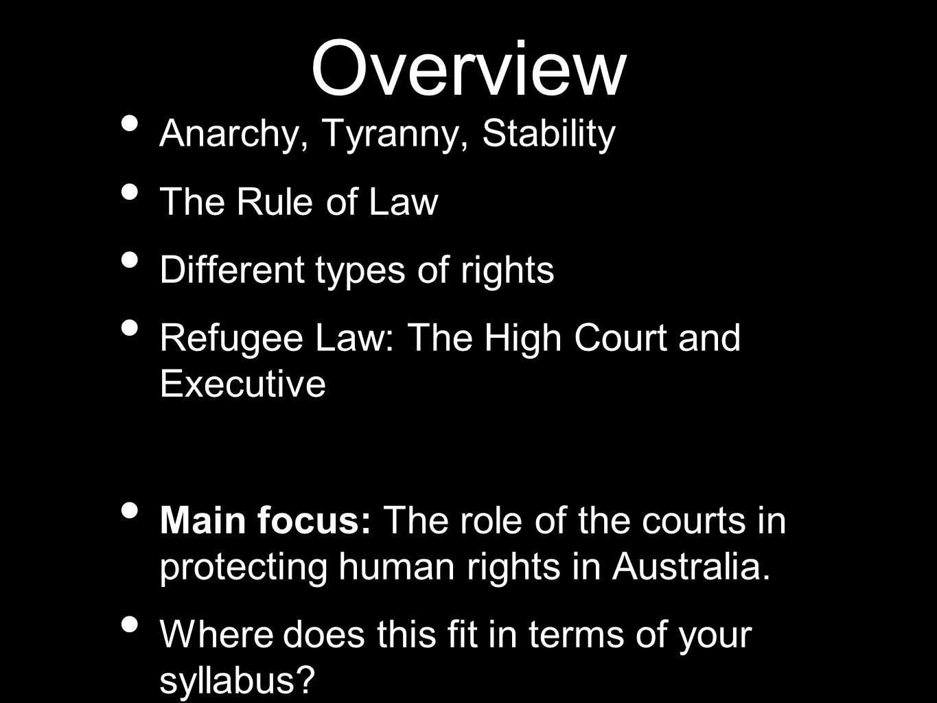 without the rule of law anarchy Key words: constitutionalism, rule of law, natural law, primitive law, f a hayek,   without exception kings, chiefs, and councils are not authorized to change the   would then conclude that some form of anarchy or possibly a moral utopia of .