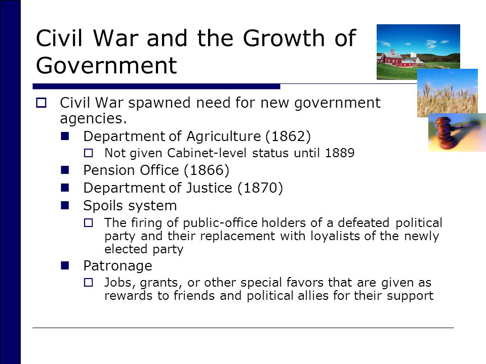 The Executive Branch and the Federal Bureaucracy - ppt video ...
