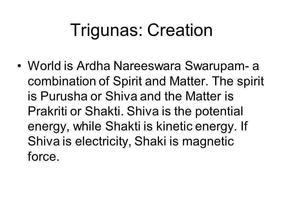 Trigunas: Creation