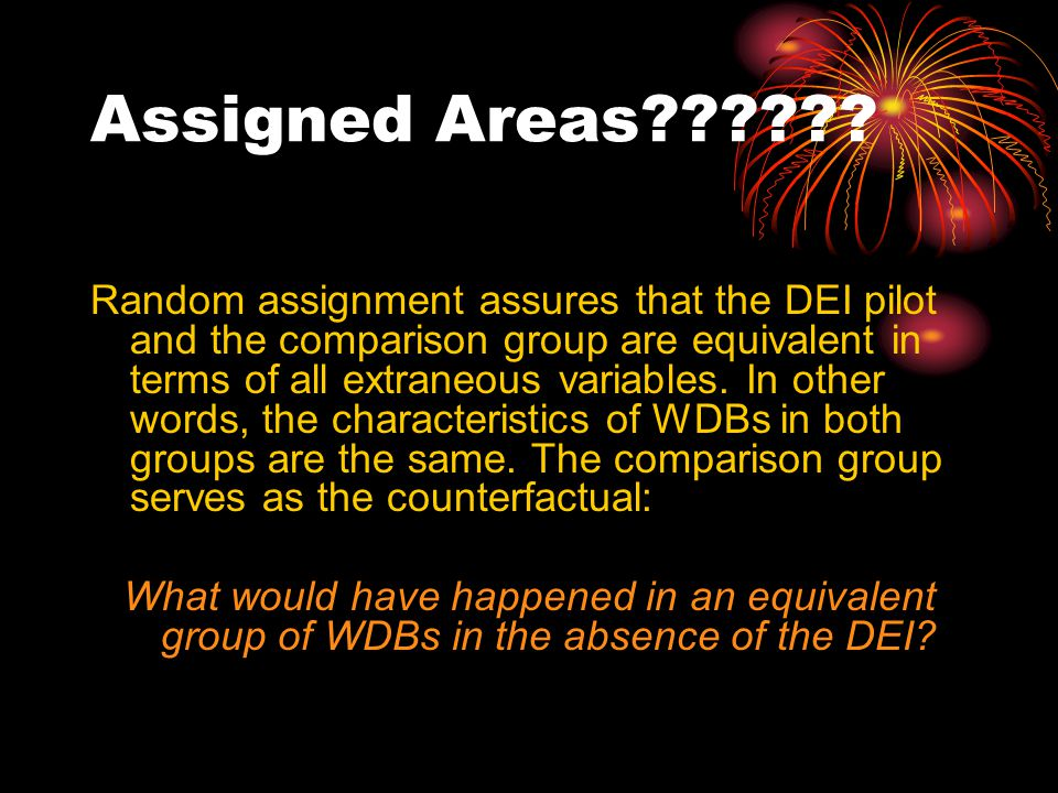 Assigned Areas