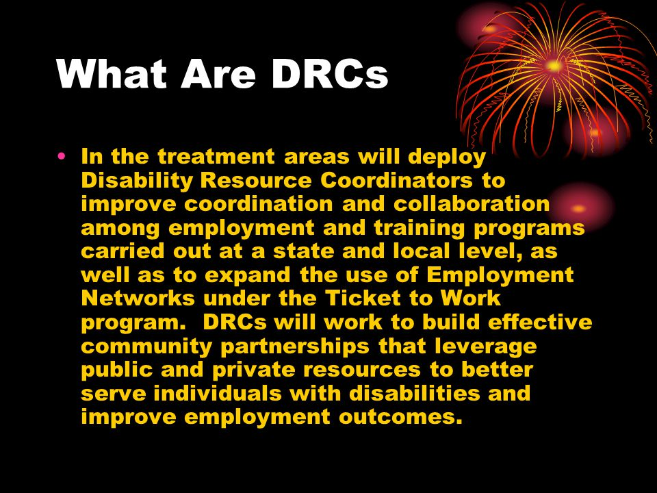 What Are DRCs