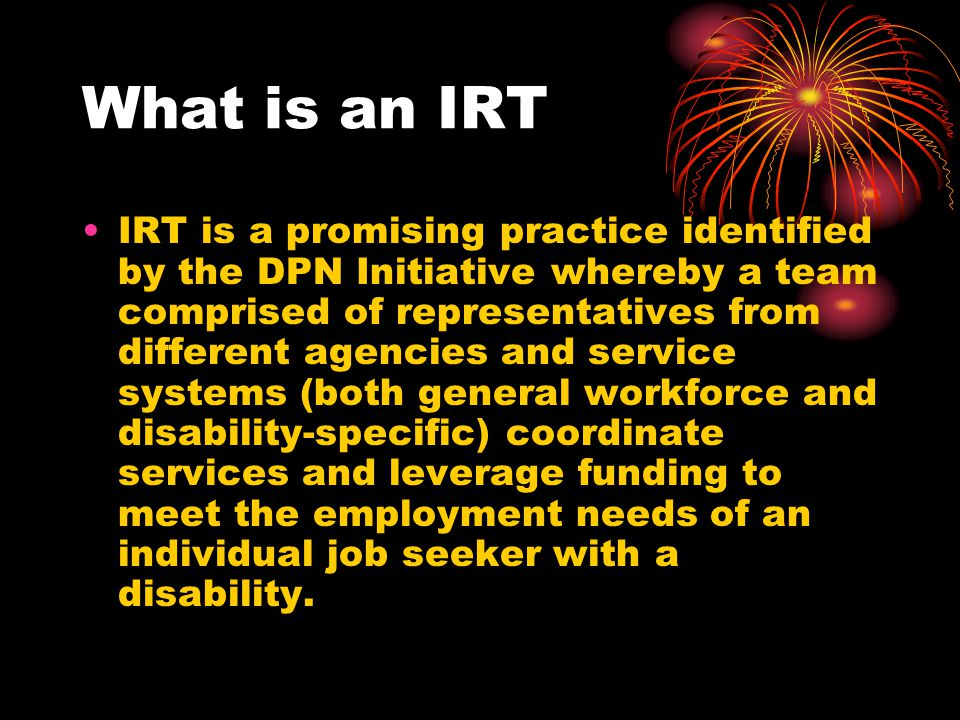 What is an IRT