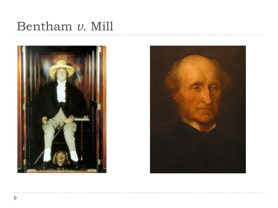 Bentham v. Mill